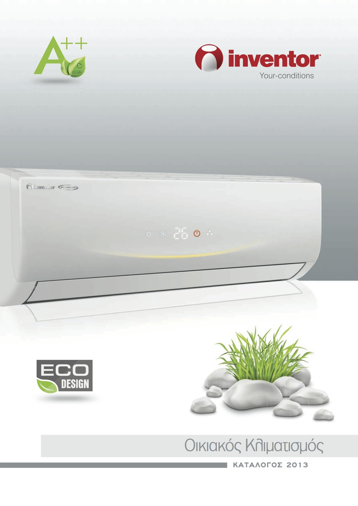 Inventor Wall Mounted Air Conditioner #9E1E24