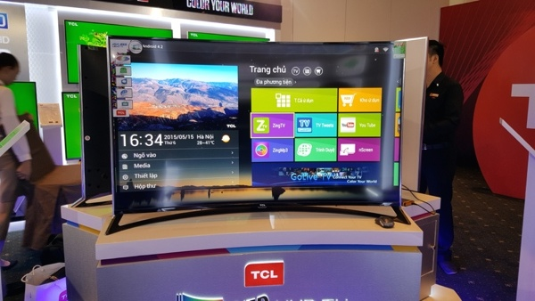 Tcl 55 Quot Curved Led Smart Tv