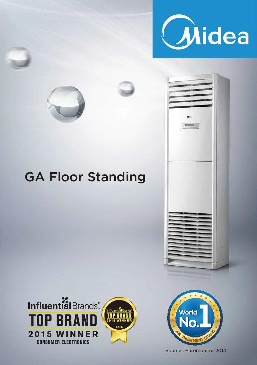 Midea Floor Standing Air Conditioner